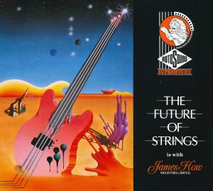 Rotosound Superwound The Future of Strings Surrealist advert 1989 small
